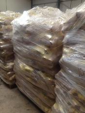 Pallet of BeeKind Wood Briquettes