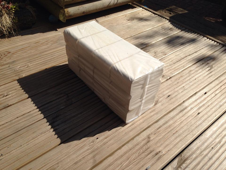 High Heat Long Lasting Wood Briquettes Burning Blocks