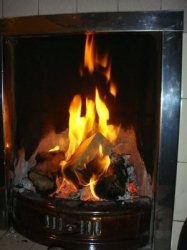 Briquettes can also be used on open fires